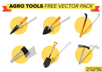Agroo Tools Free Vector Pack - бесплатный vector #398957