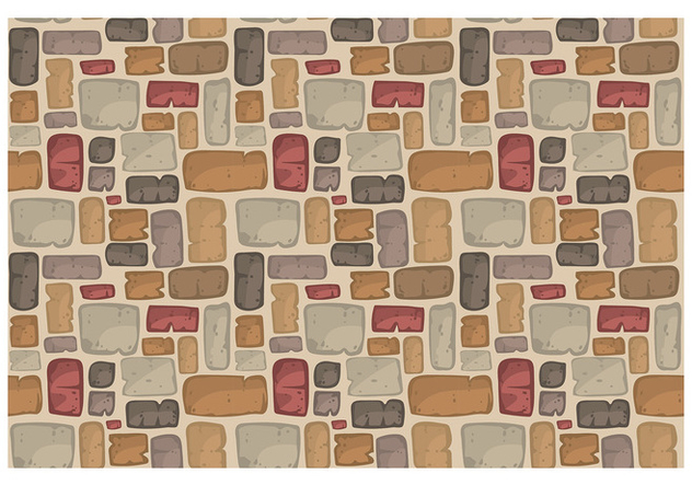 Stone Path Pattern Vector - Free vector #399097