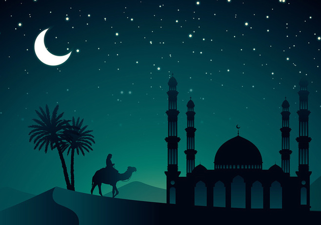 Arabian Night Vector - Free vector #399137