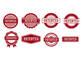 Patent Seal Vector - бесплатный vector #399147