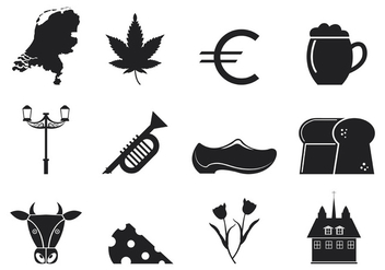 Netherlands Icons Vector - бесплатный vector #399167