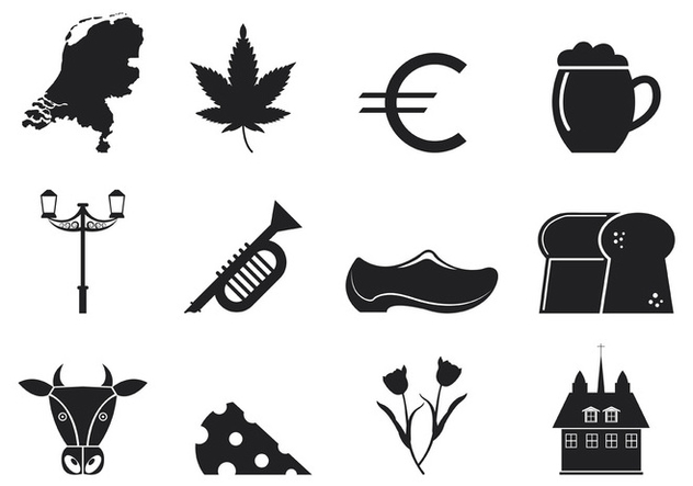 Netherlands Icons Vector - Kostenloses vector #399167