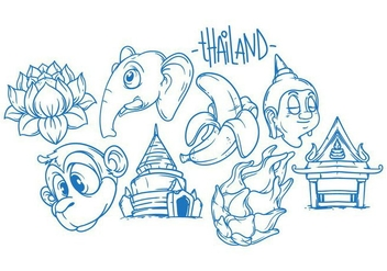 Free Thailand Illustration Vector - Free vector #399637