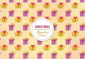 Free Vector Watercolor Gifts Pattern - vector #399807 gratis