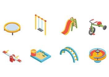 Free Kids Playground Vector - бесплатный vector #400157