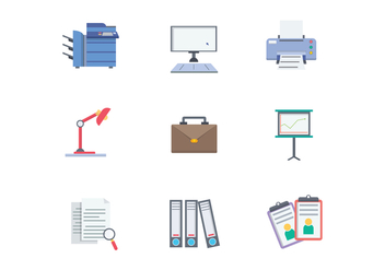 Free Office Vector - Free vector #400177