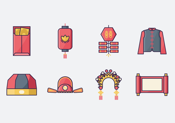 Free Chinese Wedding Icon - Free vector #400237