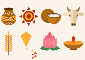 Free Pongal Vector Icon - Free vector #400567