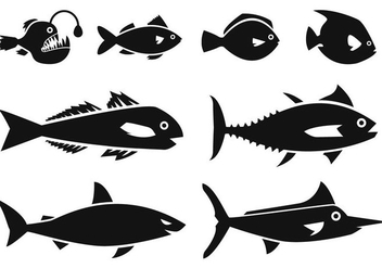 Free Ocean Fish Icons Vector - бесплатный vector #400637