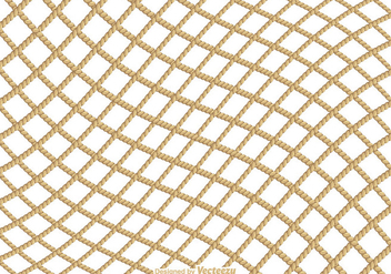 Free Fishing Net Vector Texture - бесплатный vector #400877