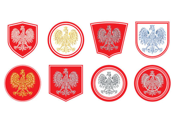 Free Polish Coat of Arms Vector - бесплатный vector #400917