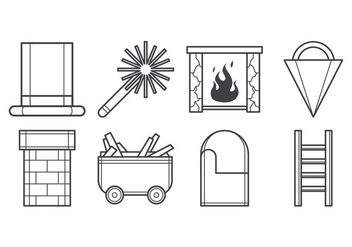 Free Chimney Icon Vector - vector gratuit #400937