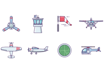 Free Airplane Vector - Free vector #401077