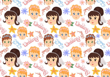 Free Wedding Pattern Vectors - vector gratuit #401177