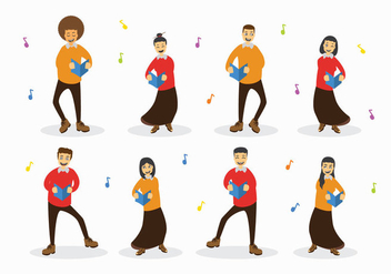 Free Choir Vector - Free vector #401307