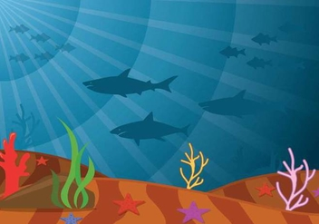 Seabed Vector - vector #401507 gratis