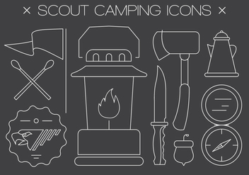 Free scout Vector Icons - vector #401667 gratis