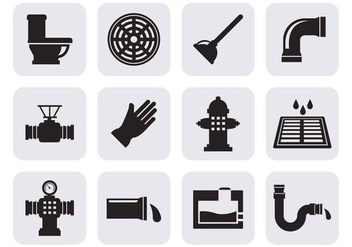 Free Sewerage Icons Vector - бесплатный vector #401757