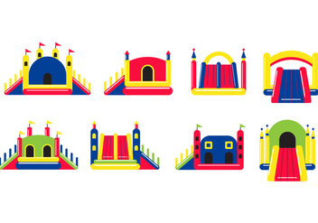 Free Bounce House Vector - Free vector #401787