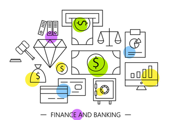 Free Banking Icons - Free vector #401897