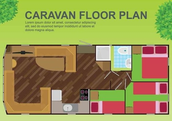 Free Floorplan Illustration - Free vector #402067