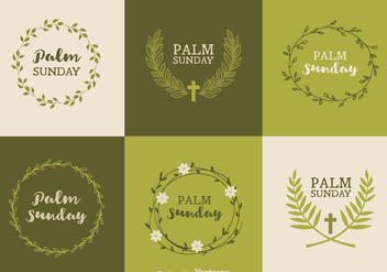 Free Palm Sunday Vector Designs - бесплатный vector #402077