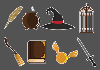 Hogwarts Vector Pack - Free vector #402257