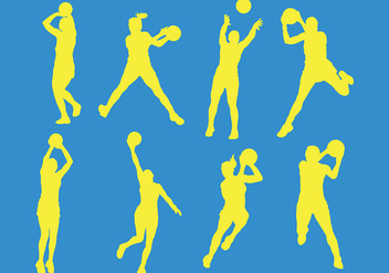 Free Netball Icons Vector - Kostenloses vector #402467
