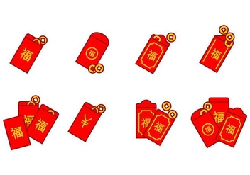 Red Packet Icon - vector gratuit #402567