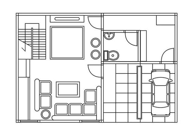 Floor Plan Vector Download De Vetor Gratuito 402667 Cannypic