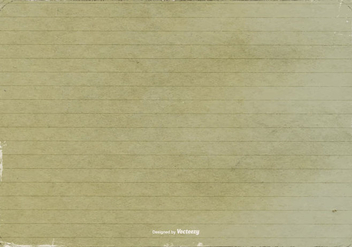 Grunge Lined Paper Texture - Free vector #402747