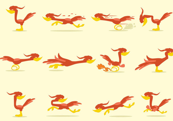 Roadrunner Icon - vector #402767 gratis