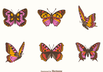 Free Papillon Vector Set - бесплатный vector #402837