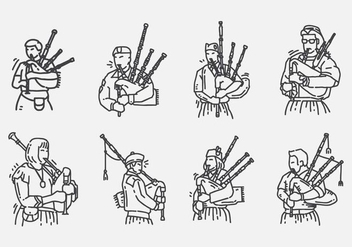 Bagpipes Icon - Free vector #402967