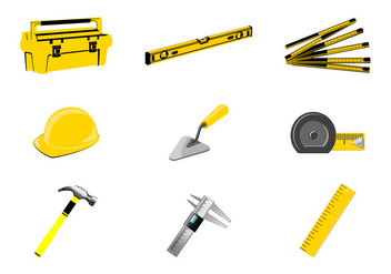 Hand tools vector - Free vector #403127