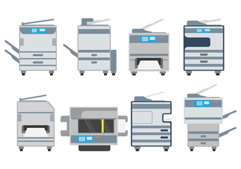 Photocopier Vector Pack - vector #403137 gratis