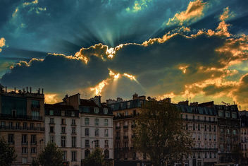 Sunset over the Left Bank - image gratuit #403557
