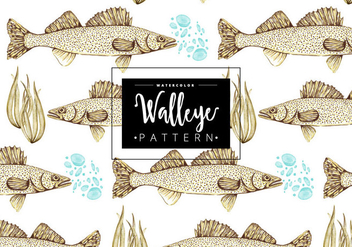 Free Walleye Pattern - Free vector #403607