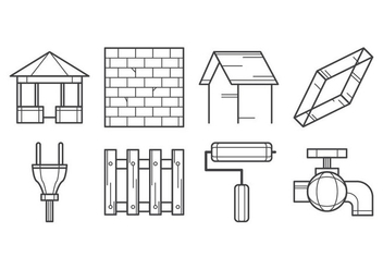 Free Construction Icon Vector - vector gratuit #403847