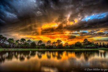 Sunset and Rain - image #403867 gratis