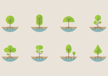 Mangrove Icon - Free vector #403977