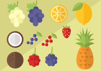 Free Fruit Vector - бесплатный vector #404137