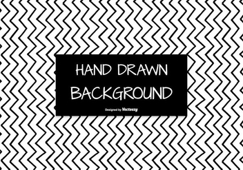 Hand Drawn Style Seamless Chevron Background - Free vector #404207
