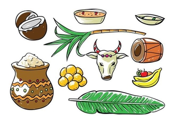 Free Pongal Vector - Free vector #404267