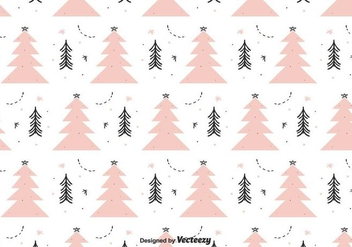 Winter Background Vector - vector #404337 gratis