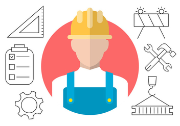 Construction Vector Icons - Free vector #404537