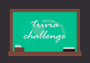 Trivia Encyclopedia Quiz - Free vector #405037