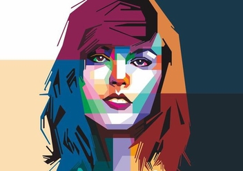 Taylor Swift Vector - vector gratuit #405457