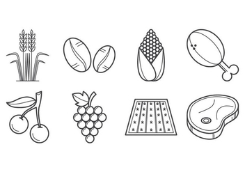 Free Agriculture and Farming Icon Vector - vector gratuit #405797