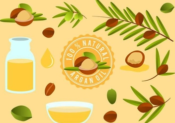 Free Argan Vector - бесплатный vector #406117